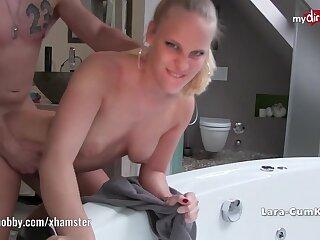 My Dirty Hobby - Lara-Cumkitten face full of cum