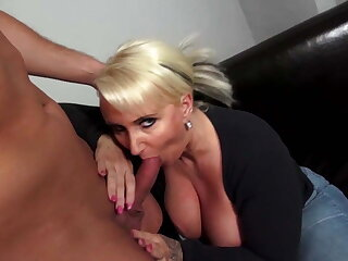 Mature curvy mother fucks young not her son