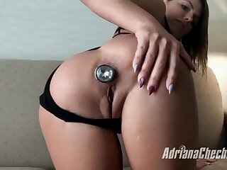 Adriana Chechik in POV Style Ass Fuck Near Squirt