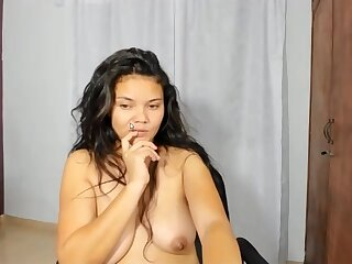 Latina posh tart ravishing sex prop