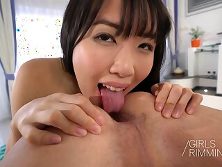 Ass-licking Episode With Hairy Japanese Cutie - Ria Mai
